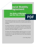 Financial Stability Agreement