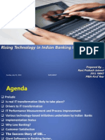 Technology in Banking by Ravi Jaiswal2