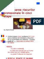 Evaluare riscuri profesionale în cinci etape