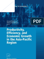 productivity, efficiency and economic growth in asia pacific