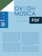 Oviedo es música- JULIO/AGOSTO