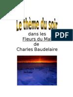Thème du soir dans les Fleurs du Mal de Charles Baudelaire
