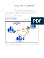 Step by Step Membangun VPN Server Dgn Mikrotik