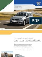 Dacia Logan Break, Catálogo Sep 2011, España