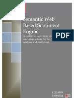 Semantic Web Based Sentiment Engine