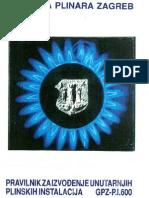 GPZ PI 600 Pravilnik Za Plinske Instalacije