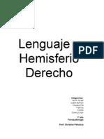 Lenguaje y Hemisferio Derecho