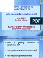 Gassing Tendency of Oil