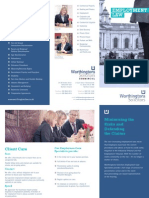 Worthingtons Solicitors Belfast - Employment Law Leaflet