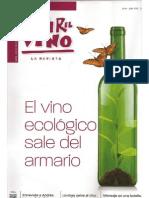 Vivir El Vino  El Vino ecológico sale del armario