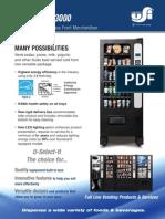 Single Temperature Glass Front Merchandiser