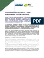 Centro Tecnologico Michelin Motos Ladoux - GnG Vizcaya