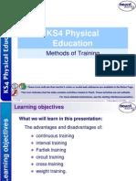 11. Methods of Training