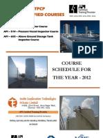 API Schedule 2012-13