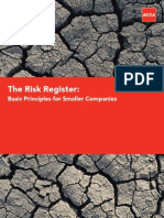 The Risk Register-T Morton