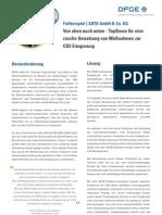 DFGE - SATA Case Study