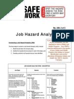 Job Hazrd Analysis
