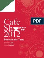 Cafe Show 2012_Brochure