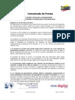 2012 03 29 Comunicado Clausulas Permanencia