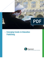 Trends in Education Publishing