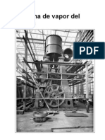 Maqueta de la máquina de vapor del Titanic