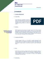 CIPLA_ratio Analysis 1
