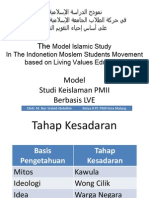 Islamic Study PMII Berbasis Living Values Education