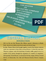 Ppt General Electric