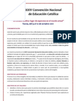 Programa General Tacna 2011