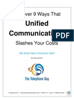 9 Ways Unified Communications Slashes Costs