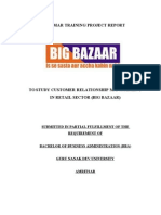 Customer Relationship Management in Retail Sector Big Bazaar