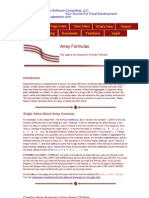 Array Formulas 1