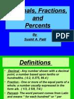 Fraction & Decimal