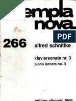 Schnittke - Pianosonate 3