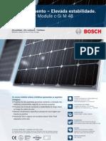 Bosch Solar Module c Si M 48 EU30111 Portugiesisch