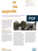 Why we need the upgrade - leaflet