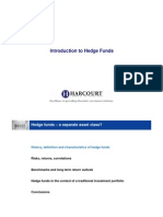 Introduction to Hedge Funds