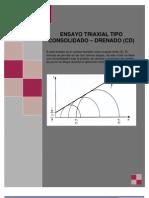 Trabajo Triaxial Consolidado Drenado CD - Copia