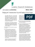 Bridge the Communication Gap with Employee Focus Groups