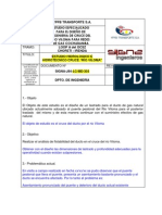 Cruce Rio Viloma - Memoria Flotabilidad