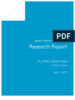 Final Research Report Neutral Carbon Product Jun 18