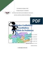 Metodos Cualitativos y Cuantitativos Del Analisis de Problemas