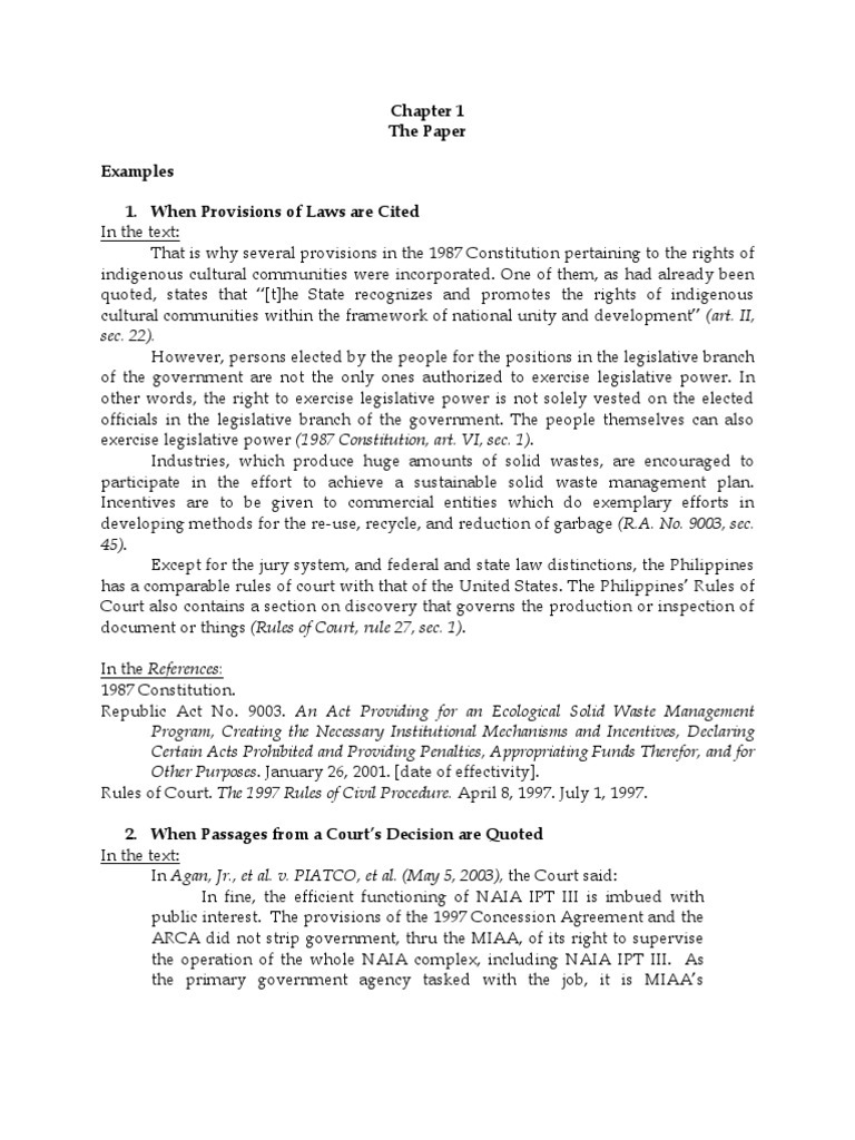 5d143e5223ebd3 APA format for FAR EASTERN LAW REVIEW   United States Constitution    Commission On Elections (Philippines)