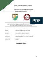 Proyecto de Control de Personal Empresa Imprimax