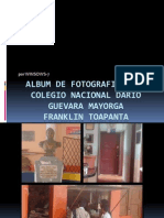 Album de Fotografias Del Colegio Nacional Dario Guevara