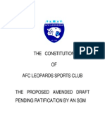 AFC Constitution Final Draft