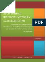 Diversidad Funcional Motora y La Accesibilidad