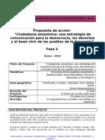 PROYECTO PANAMAZONIA CCFD