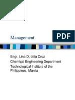 EMAN 003 Management
