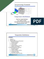 Laser Processing Of Materials - Teil 6 Von 8 - Temperature Distributions - Skript - Prof Dr Frank Mücklich - Dr Andrés Lasagni - Universität Des Saarlandes - 2007